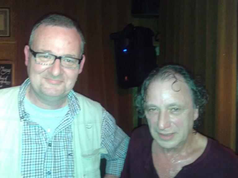 with Pierre van der Linden